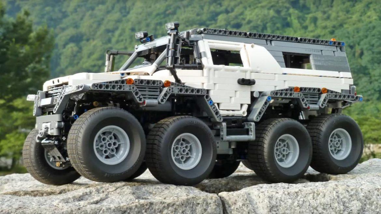 Крупногабаритный грузовик Авторос Шаман